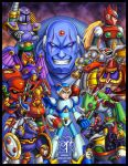 Megaman X Tribute by Lukael-Art
