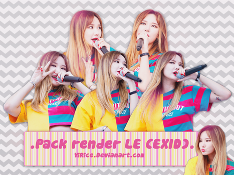 /Share render/ LE-EXID by YiRice