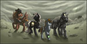 Equestrian Wasteland by Idess