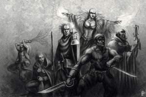 6 Professions by mr-nick