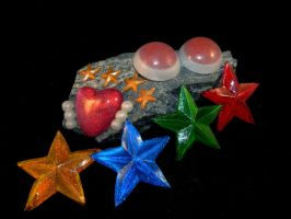 Eternal Senshi accessories by starlit-creations