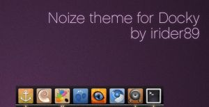 Noize theme for Docky by irider89