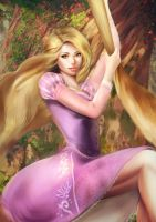 Rapunzel by MeTaa