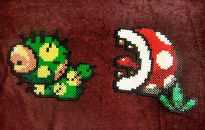 Beads - Mario characters 10 by Oggey-Boggey-Man