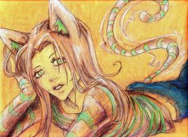 Cheshire Cat by ArikaTwins