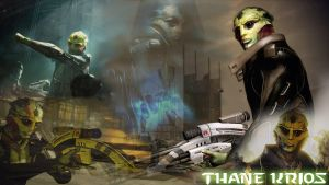 Thane Krios by chaosblader501