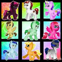 My little friends by chicajamonXD