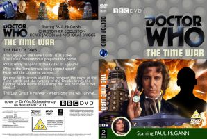 DOCTOR WHO: The Time War     DVD Cover by DrWho50thAnniversary
