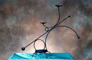 candle holder by metalmorphoses