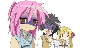 nabari no ou x lucky star by Naoot