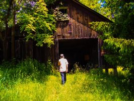 Grandpa's Barn. by simpspin