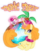 Tropic Treat- Paopu pony of Destineigh Island by Sakuyamon