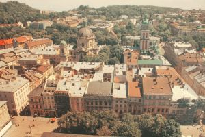 Lviv from above 3 by julismith