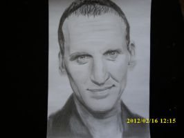 Christopher Eccleston The 9th Doctor by Zero-Cool-23