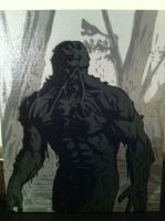 SWAMP THING by Stencils-by-Chase
