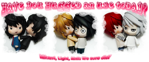 Have you hugged an Uke today? by llawliet-ryuzaki