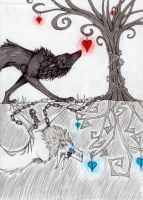 Tree of hearts by ShatteredMirrorWolf
