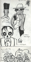 University Monters Sketches - Phantom of the Opera by SmudgeThistle