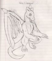 Kide's Dragon form by Lare-yoshi