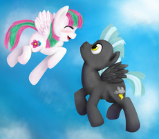 Blossomforth + Thunderlane by Lolly-pop-girl732