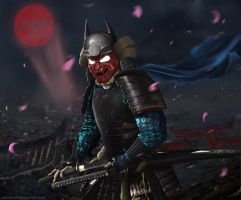 Feudal Batman by JoelWhite