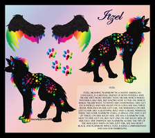Itzel Ref Sheet- Contest Entry by TikamiHasMoved