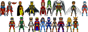NAC: Justice Avengers- Newbies by Red-Rum-18