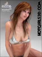 Silver Bikini Model by staceyli
