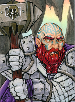Sketchcard- Faenon by DangerWench
