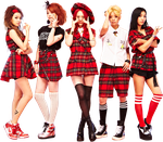 F(x) PNG Render by classicluv