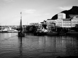 Cape Town Harbour by Pride-joy