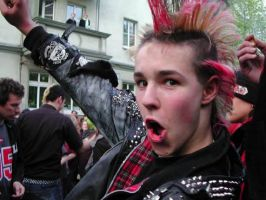punk boy by patchedPunk