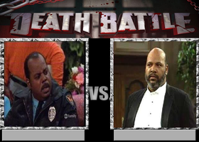 Deathbattle170: Carl Winslow vs Philip Banks by Mr-Wolfman-Thomas