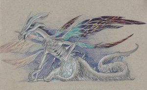 Seath the Scaleless 2 by TeknicolorTiger