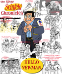 the Silver Seinfeld Chronicles: PART 4: Newman by AverageJoeArtwork