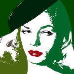 Lauren Bacall 2 - Pop Art by davidiana
