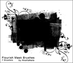 Flourish Masks by endlessdeep