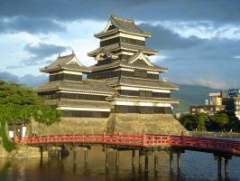 Matsumoto castle by marhaus