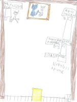 Whitestar(and liongirl)'s room with a table and a by sailorcancer01