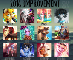 2016 Summary of Art by LillyCheese