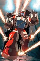 Spotlight Cliffjumper RI cover by khaamar