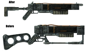 Fallout Laser Rifle Improved by MegaBLYSTONE