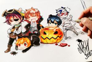 Happy Halloween by Naschi