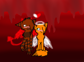 Tigerstar x Firestar OYUS *shot* by Fluffuu