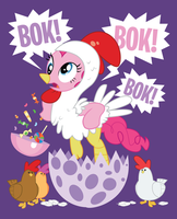What Came First? The Pinkie or the Egg? T-Shirt by xkappax