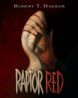 Raptor Red book cover assignment by amorousdino