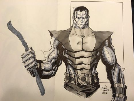 Colossus Commission for Indy Con 2016 by BrianVander