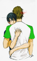 MakoHaru hugggg~ by ATLA-fan22