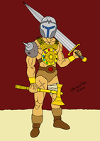 Armored Warrior by GustavoMorales
