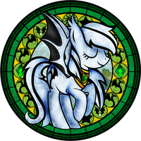 Crystal stripes Stained Glass ver. 2 by Crystalchan2D